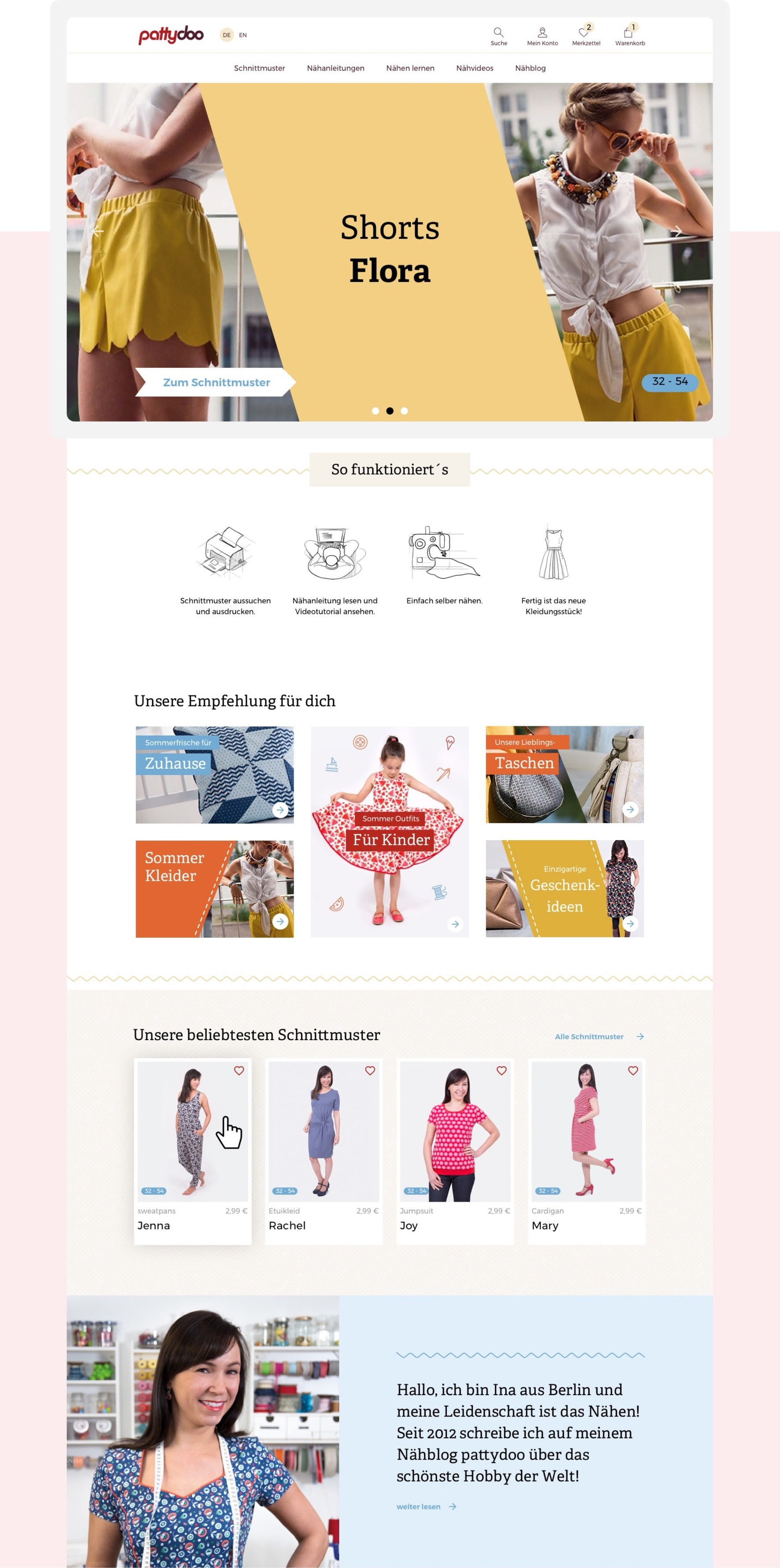 Responsive banner design for fashion online-shop