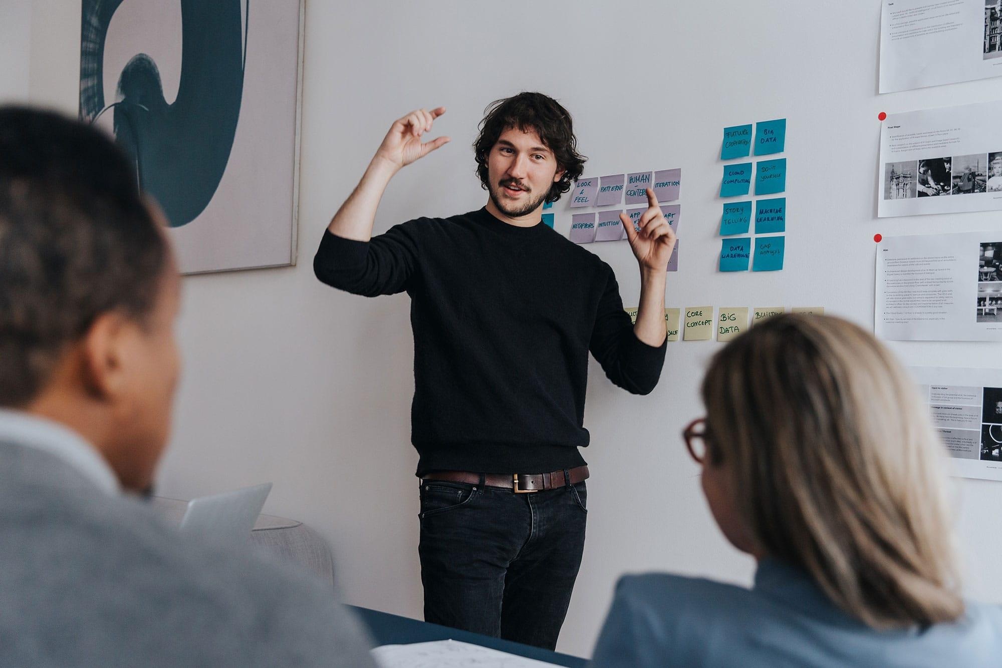 Design thinking workshop with Julius Schäufele